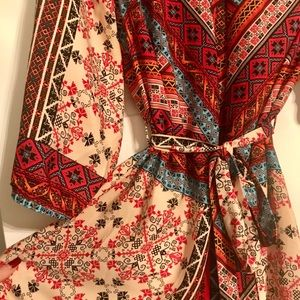 NEW Tinley Multi-Colored Dress